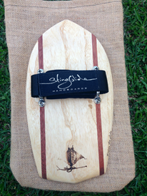 STING GLIDE Wooden Handboards - Diamon Tail with Stringers