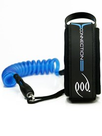 POD Connection Superior Prone Medium Bicep Leash - Blue
