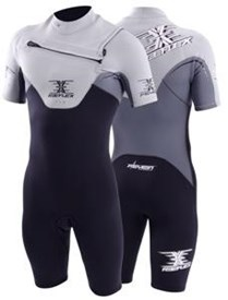 REEFLEX WETSUITS MERCURY 2/2mm CHEST ZIP 2/2mm SPRINGSUIT - Flare