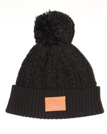 GRAND FLAVOUR Cable Beanie -  Black