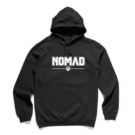 NOMAD BODYBOARDS - Corporate Logo Hood - Black