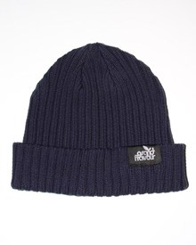 GRAND FLAVOUR Corrugated Beanie - Navy