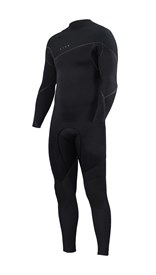 ZION WETSUITS Cortez 3/2mm Liquid S-Sealed Zipperless Steamer - Black - Winter 2017 Range