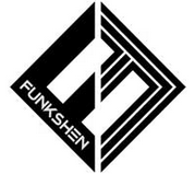 FUNKSHEN Bodyboards - Icon Sticker - Assorted Colours