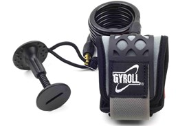GYROLL Wrist Leash - Black Coil / Cuff