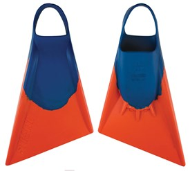 STEALTH S2 FINS - Blue / Orange