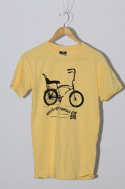No Friends Clothing Dragster T Shirt - Mustard