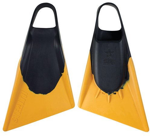 STEALTH S2 FINS - Black / Gold - Jake Stone Model