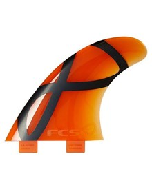 FCS M5 IFT SOFTFLEX TRI FIN SET - ORANGE
