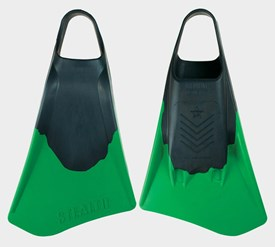 STEALTH S4 FINS - Black/ Lime