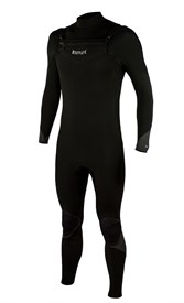 REEFLEX WETSUITS Enderman 3/2mm Chest Zip GBS Steamer - Black - Winter 2018 Range