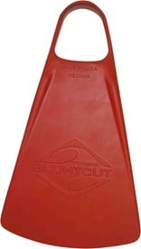 TOOBS Bluntcut Fins - Red