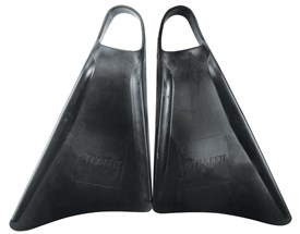 STEALTH S1 CLASSIC FINS - Black / Black