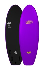 MULLET SOFT SURFBOARD Biscuit Model - 5' 4 - Purple - 2017/18 Model