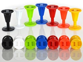 POD Bodyboard Plug - Assorted Colours