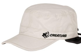 CREATURES OF LEISURE Surf Cap - Chalk