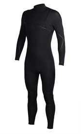 REEFLEX WETSUITS Jerry Series 4/3mm GBS Zipperless Sealed Steamer - Black - 2016/17 Summer Range