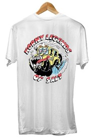 ZION WETSUITS Horny Legends Colab T Shirt - White