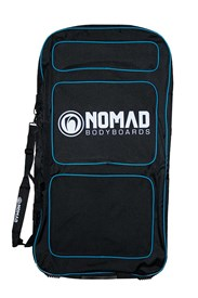 NOMAD TRANSIT DOUBLE BODYBOARD BAG - Black/ Blue