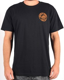 GRAND FLAVOUR Pizza T Shirt - Black