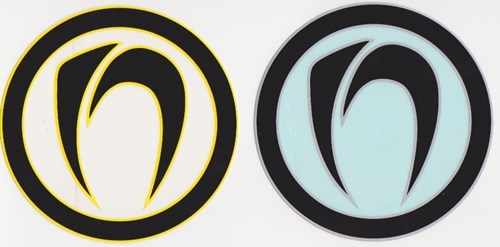 NOMAD BODYBOARDS - Icon Sticker - Assorted Colours