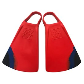 HUBBOARDS FINS - Dubb Zero - Red/ Blue/ Black