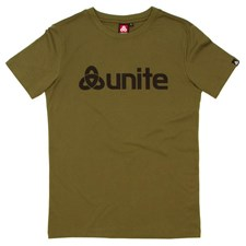 UNITE Trademark T Shirt - Military Green