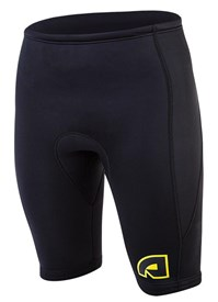 ATTICA 2mm WETSUIT SHORTS BLACK/ YELLOW - 2013/14 SUMMER
