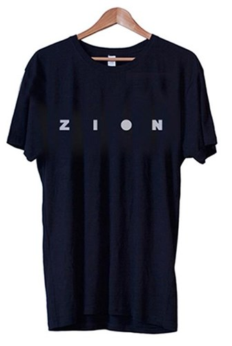 ZION WETSUITS Logo T Shirt - Navy
