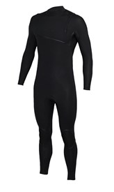 REEFLEX WETSUITS Jerry Pantera 3/2mm GBS Zipperless Sealed Steamer - Black - 2017 Winter Range