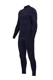 ZION WETSUITS Vault 3/2mm Liquid S-Sealed Chest Zip Steamer - Midnight - Winter 2018 Range
