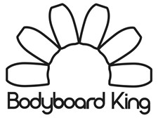 Bodyboard King Sticker - Outline