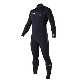 ATTICA Wetsuits - Alpha Liquid Sealed GBS 4/3mm Steamer - Black - 2016 Winter Range