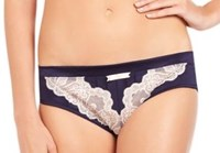 Pleasure State VIP (DD - G Cup) Piper Phoenix Midi Brief - Evening Blue/Dew