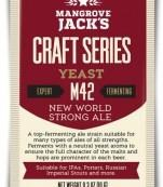 Mangrove Jacks Craft Series New World Strong Ale Yeast M42