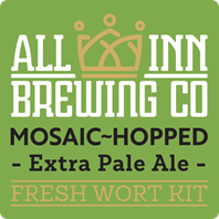All In Mosaic Hopped Extra Pale Ale Fresh Wort