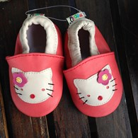 Leather Soft Pre Walker Shoes - cat