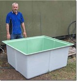 Tank - Fish - 925 Ltr Fibreglass. Rectangular