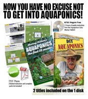 DIY Aquaponics & Aquaponics: The First 12 Months DVD