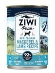 Ziwi Peak Dog Cans, 390 gram, available in trays of 12 cans in 6 flavours.