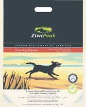 ZiwiPeak Daily Dog Air-Dried Dog Food: 4 Recipes, in 4 pouch sizes