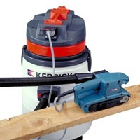 Kerrick Koala VH503K TC Wet & Dry Light Industrial Vacuum Cleaner with Power Tool Plug