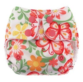 Blueberry Mini Deluxe - Newborn Nappy