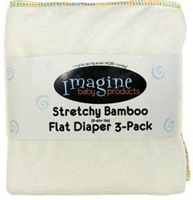 Imagine Stretchy Bamboo Flats - 3 Pack