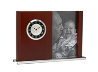 Coinwatch Clock Collection Rosewood Timber Photo Frame With Kangaroo Penny