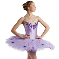 Serenade Tutu, Pancaked, Girls, Colour: Mauve/Purple (As Pictured)