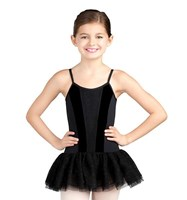 CLEARANCE, Capezio Prim Lace Corset Tutu Dress, Black