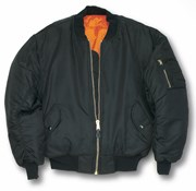 MA1 Bomber Jacket- Black