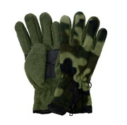 Kids Fleece Camouflage Gloves