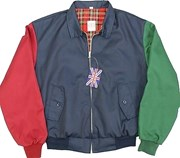 Classic Harrington Jacket Multicolour (Navy, Green, Maroon)